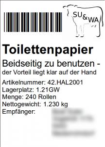 su&wa Scheisshauspapier